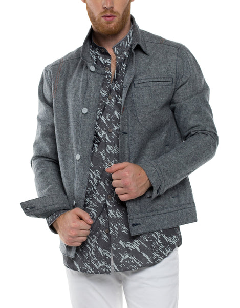 BERKOFF Brushed Denim Jacket