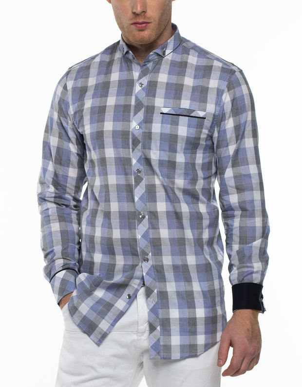 HOLDEN Long Sleeve Plaid Shirt