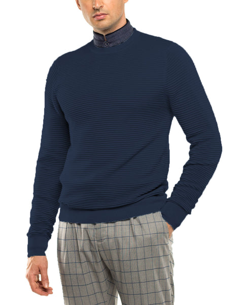 JUDE Long Sleeve Crew Neck Sweater