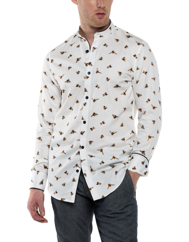 LIAM Long Sleeve Print Shirt