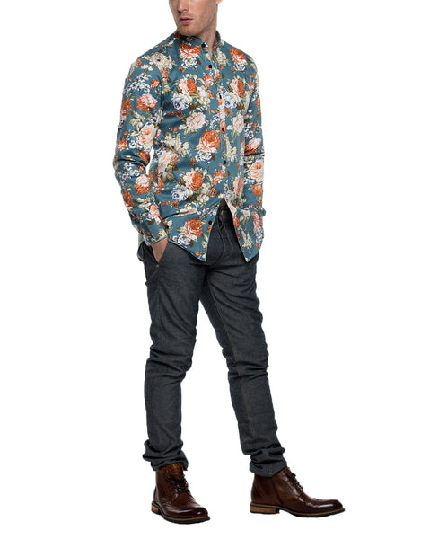 MARTIN  Long Sleeve Print Shirt
