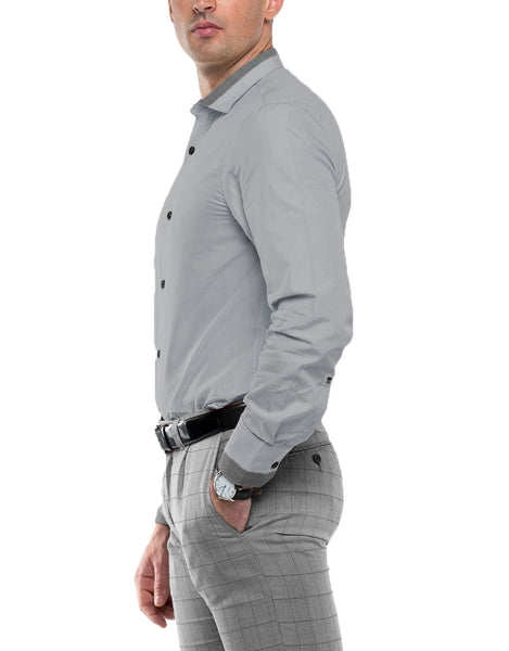 NIRO Long Sleeve Solid Shirt