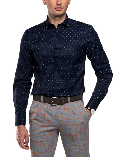 REDFORD - Long Sleeve Print Shirt