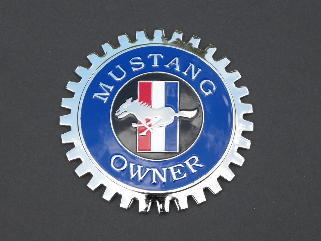 MUSTANG OWNER CAR GRILLE BADGE EMBLEM