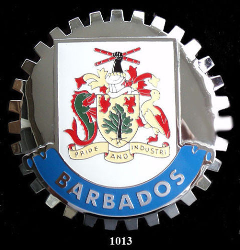 BARBADOS COAT OF ARMS BADGE EMBLEM CREST