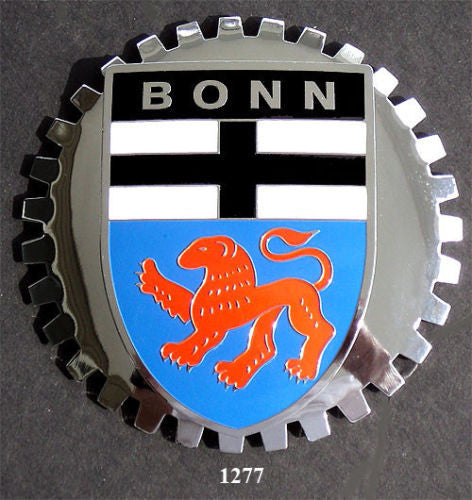 BONN GERMANY COAT OF ARMS BADGE EMBLEM FOR CAR