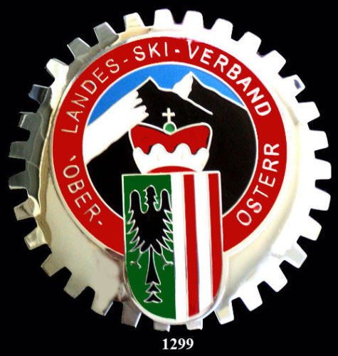 AUSTRIAN SKI CLUB BADGE EMBLEM FOR CAR