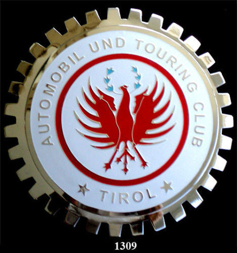 TIROL AUTOMOBILE TOURING CLUB GRILLE BADGE EMBLEM