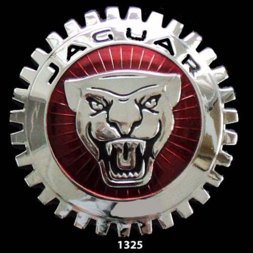 JAGUAR CAR GRILLE BADGE EMBLEM CAT