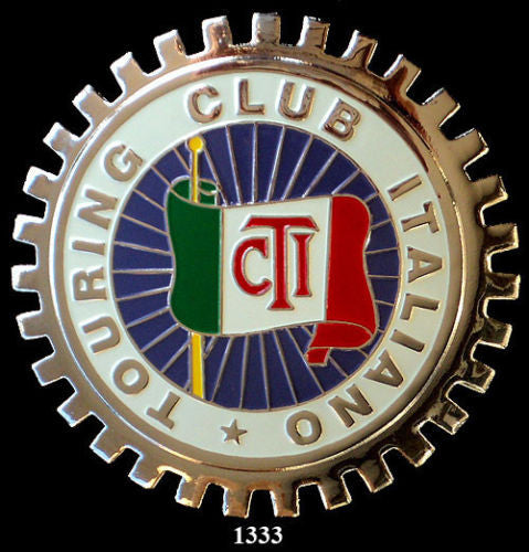 ITALIAN AUTOMOBILE CLUB BADGE EMBLEM ITALIANO CAR CLUB