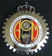 MALLORCA AUTOMOBILE CLUB GRILLE BADGE EMBLEM