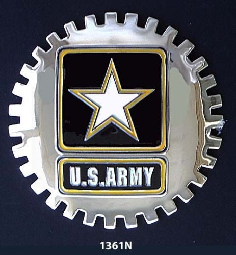 UNITED STATES ARMY CAR GRILLE BADGE EMBLEM