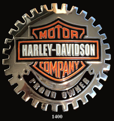 HARLEY DAVIDSON OWNER BADGE EMBLEM