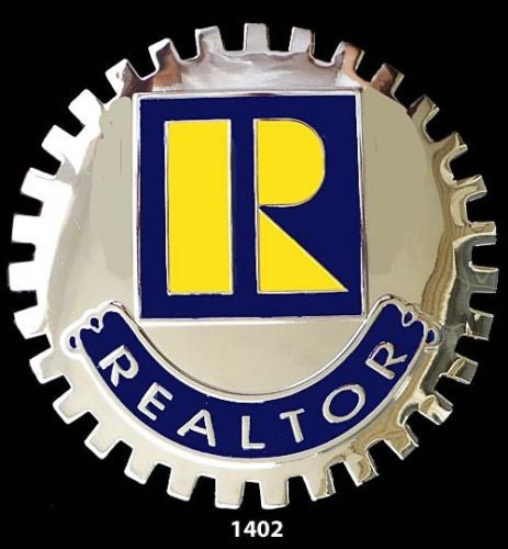 REALTOR CAR GRILLE BADGE EMBLEM