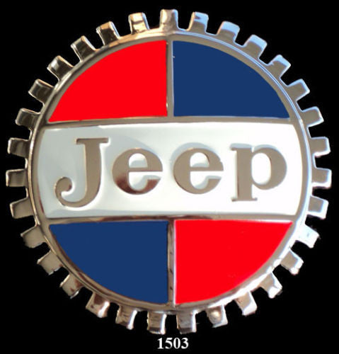 JEEP GRILLE BADGE EMBLEM GMC