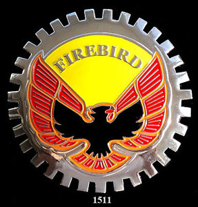 PONTIAC FIREBIRD AUTOMOBILE GRILLE BADGE EMBLEM