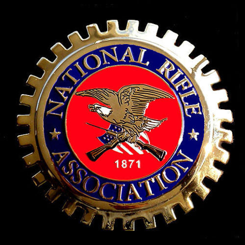NATIONAL RIFLE ASSOCIATION NRA TRUCK BADGE