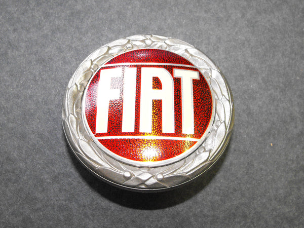 FIAT HOOD / TRUNK BADGE - SINGLE POST ON BACK