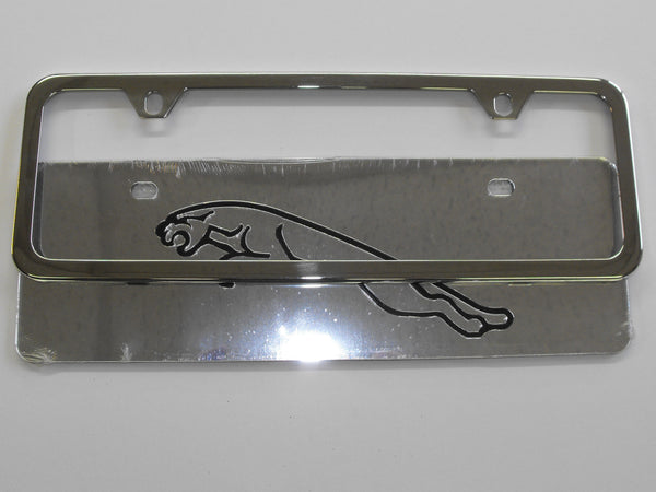 JAGUAR XJ6 XJ8 XJS LICENSE PLATE WITH FRAME