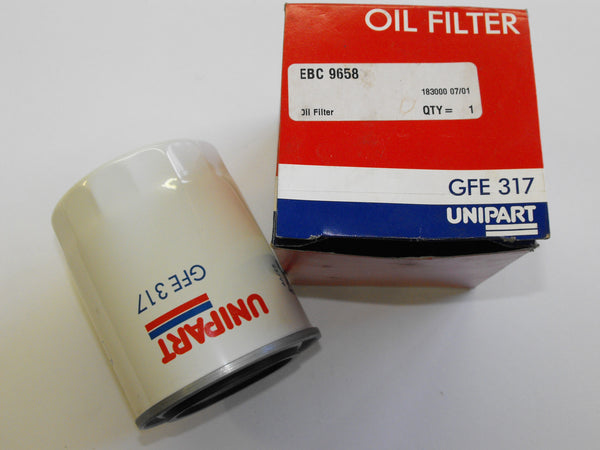 Jaguar Oil Filter GFE317 Unipart EBC9658 Jaguar