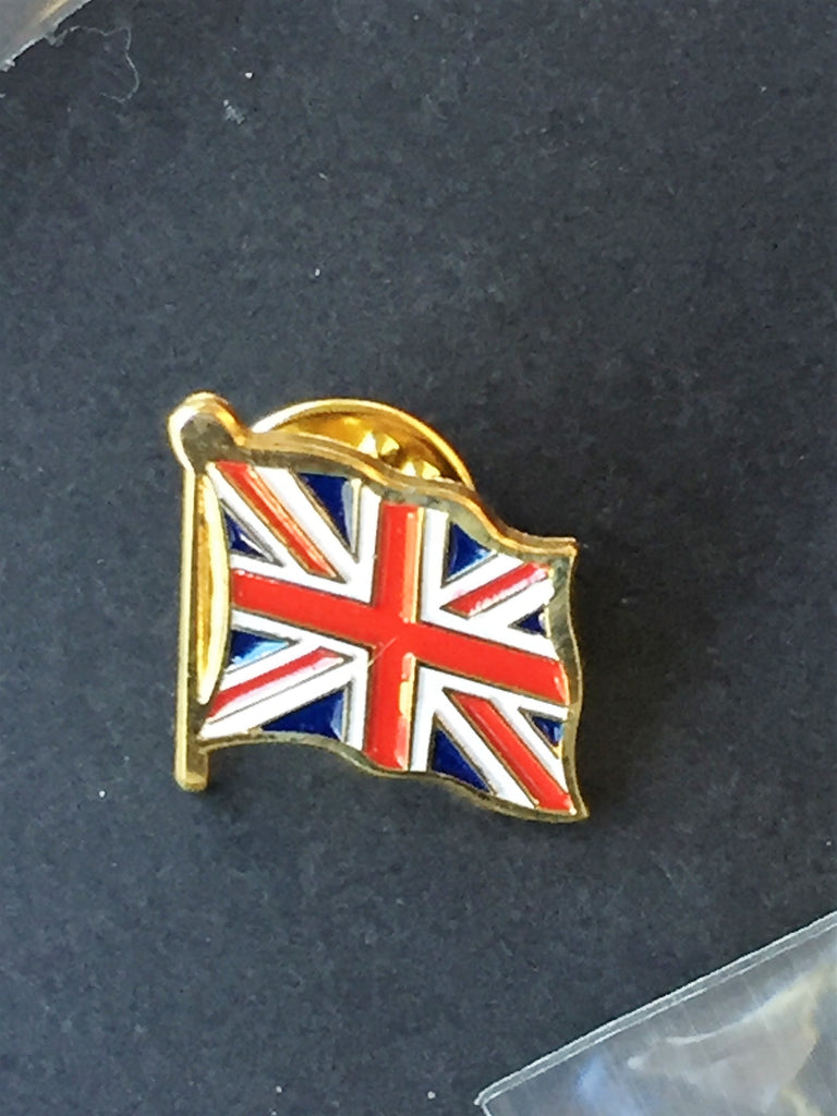 BRITISH UNION JACK FLAG UNITED KINGDOM LAPEL PIN