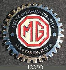 MG ABINGDON CAR GRILLE BADGE EMBLEM