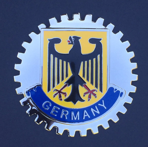 GERMANY COAT OF ARMS EAGLE CAR BADGE EMBLEM