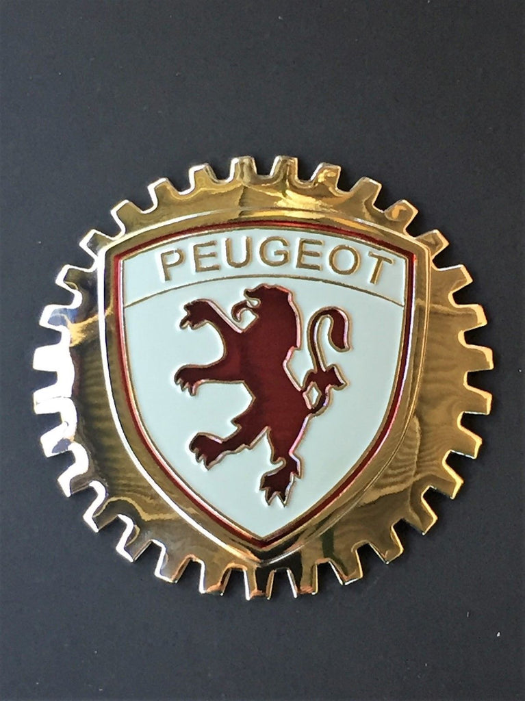 PEUGEOT CAR GRILLE BADGE EMBLEM