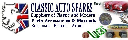 Classic Auto Spares - H.D. Rogers