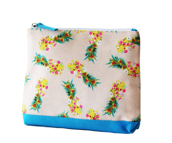 Pineapple print Meg beach