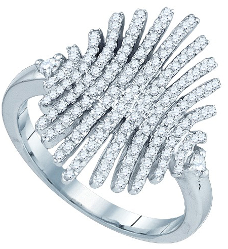 Diamond Fringe Ring