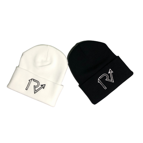 White Out/Black Out Beanies