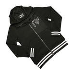 Black Out Varsity Jacket