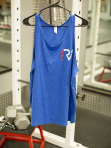 Mens Spine Tank - True Royal Blue