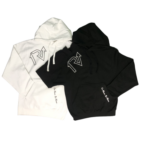 White Out/Black Out Hoodie