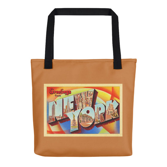 Tote Bag - New York City NY Big Large Letter Postcard Travel Souvenir