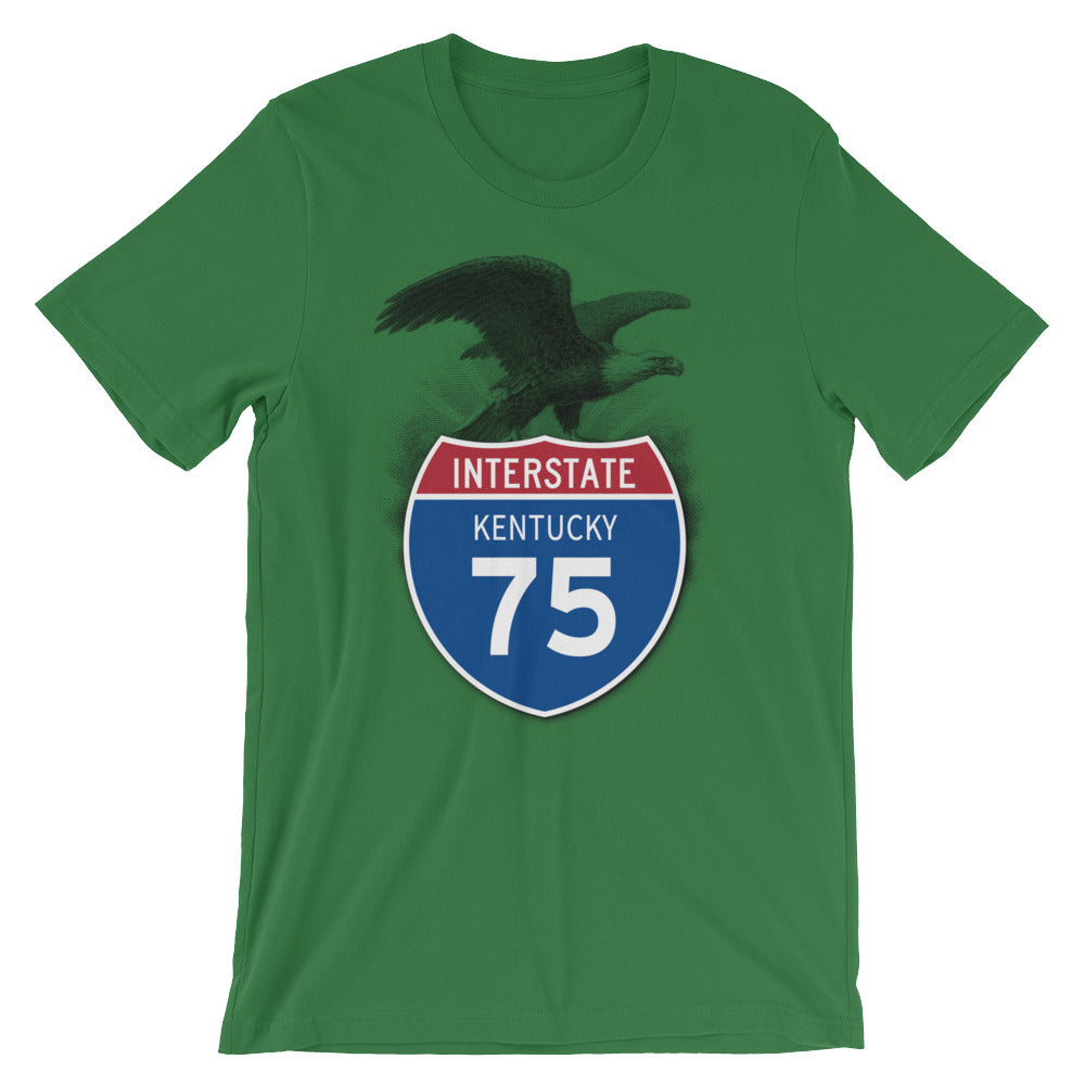 Kentucky KY I-75 Highway Interstate Shield T-Shirt Tee - American Yesteryear