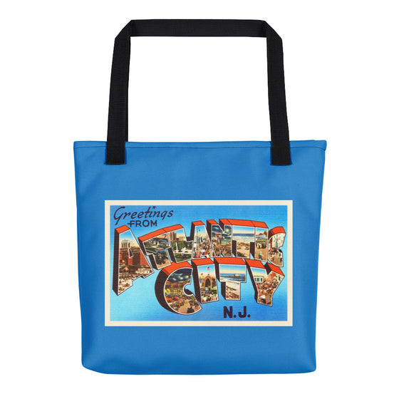 Tote Bag - Atlantic City New Jersey NJ Big Large Letter Postcard Travel Souvenir