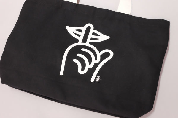 "The Quiet Life ""Shhh"" Tote Bag 