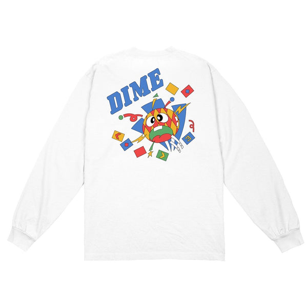 Dime Breaker L/S Shirt | White