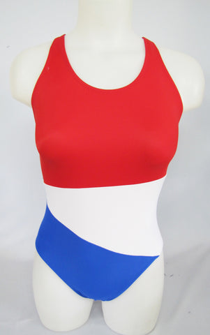 Modest Red, White, and Blue Color Block