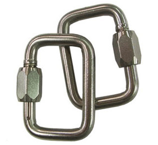 Gin Rescue Carabiner 8mm  – Pair