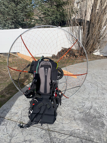 USED Paramotor -- Kraft Scorpio Top 80