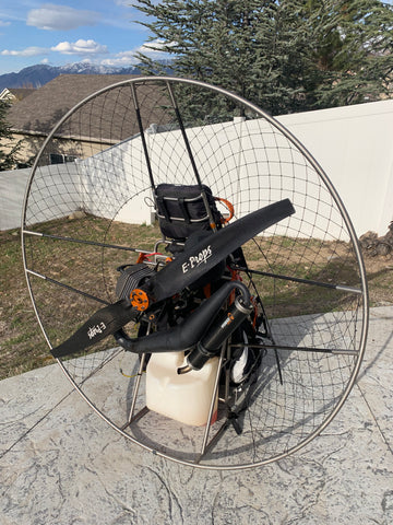 USED Paramotor -- Simplify X3 Moster Plus w. Reserve and smoke system