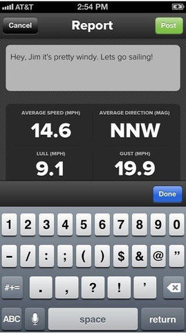 Weather Flow Android and iOS Wind Meter