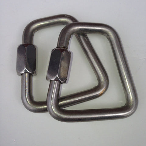 Trapezoidal Link 7 mm Pair