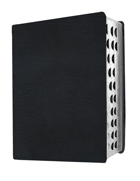 Giant Print Black Indexed Leatherlike Bible