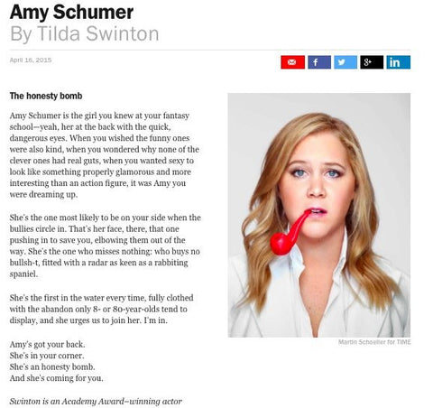 Amy Schumer TIME