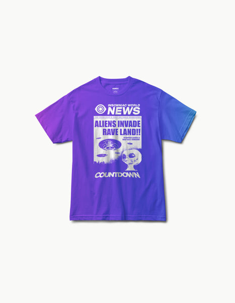 Countdown 2018 - World News Tee