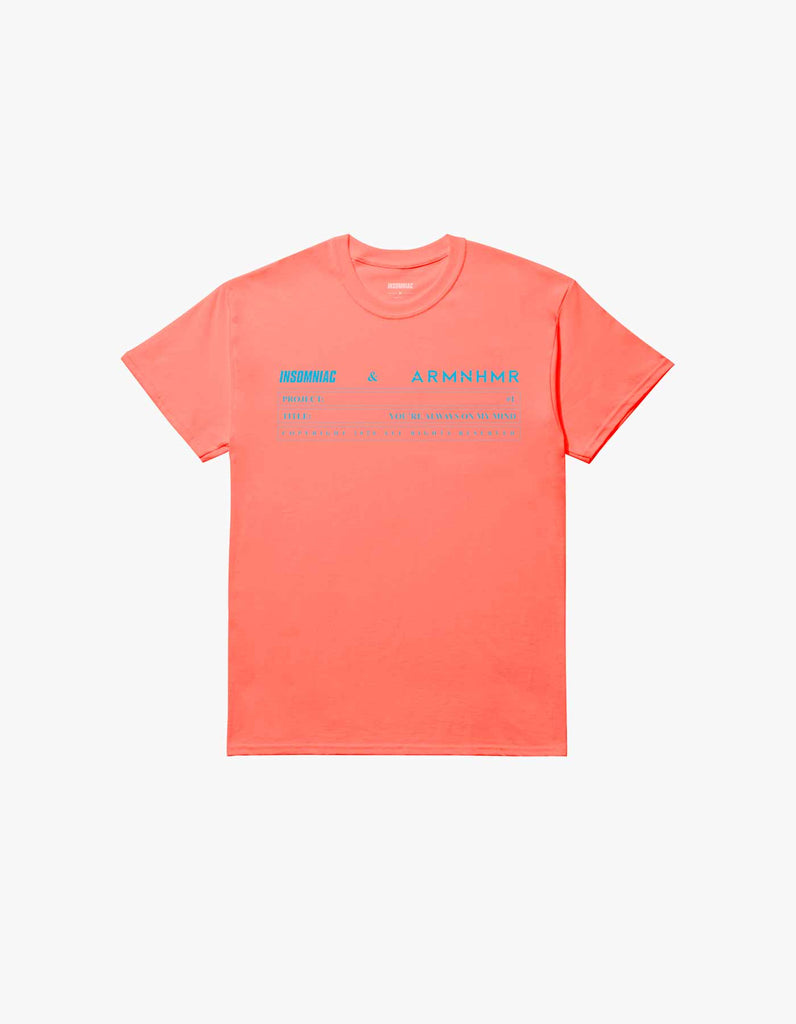ARMNHMR x Insomniac On My Mind S/S Tee